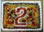 Bánh hoa quả