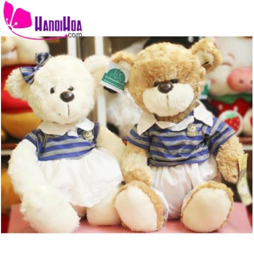 Gấu Teddy đôi thủy thủ